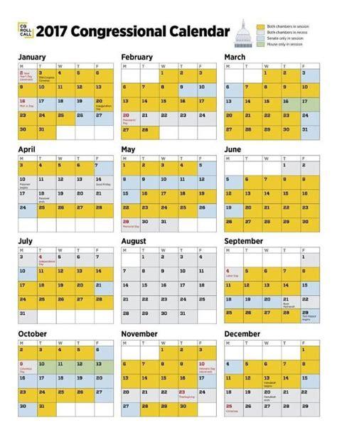 Congressional Calendar 2017 Congressional Calendar Released Aaoe