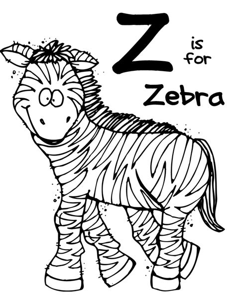 zebra z coloring page we love being moms february 2013