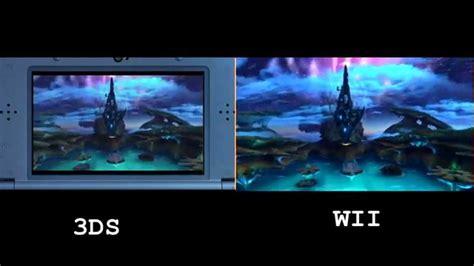 nintendo wii u vs new xenoblade 3ds vs wii graphics comparison