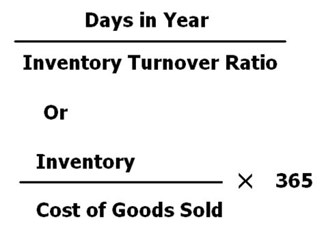 Credit Turnover Formula Inventory Conversion Period Accounting Education