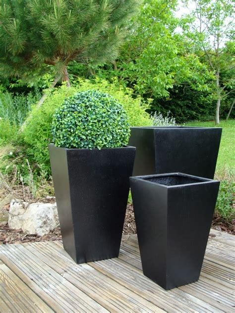 Terrazzo Planters by Poly Terrazzo Pots