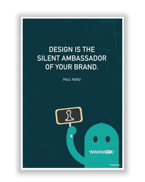 design is the silent ambassador of your brand motivational posters online india design and brand