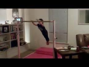 gymnastics at home the gymnast glide kip