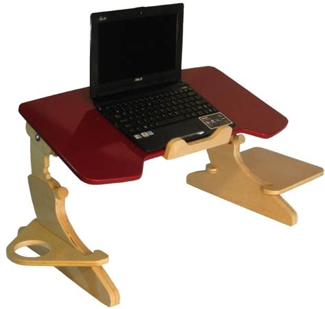 Laptop Desk Stand For Bed Ergonomic Laptop Stand Slash Tray Is For Those Who Working In Bed Ohgizmo