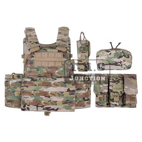 Mag Pouch Emerson Lbt 6094 emerson tactical modular molle lbt 6094a plate carrier combat vest w pouches ebay