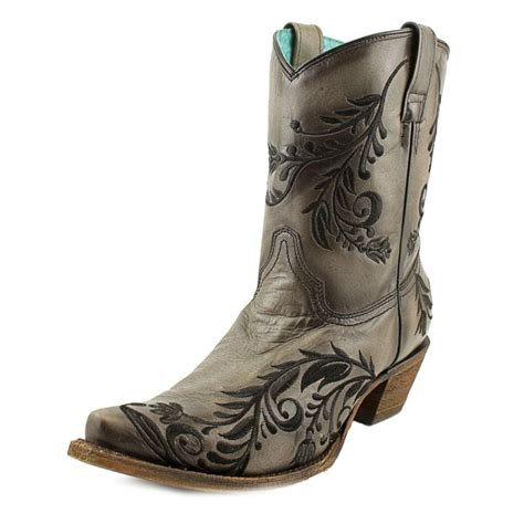 corral a3193 distressed leather brown western boot boots