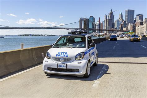 new york new york nypd orders 250 smart fortwo cars