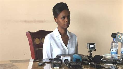 bureau 騁ude despite leaked n ude photos rwandese presidential