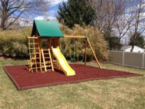 best wooden swing set under 1000 1000 images about rubber playground mulch on pinterest