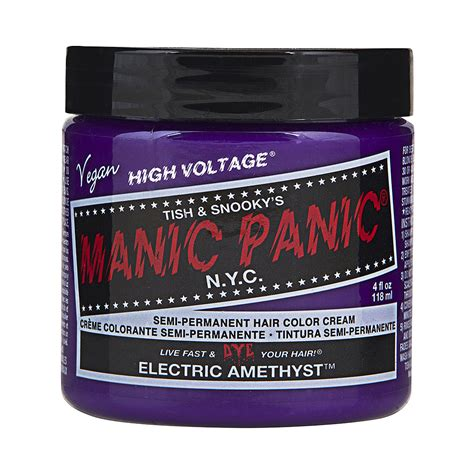 Manic Panic Classic Electric Amethyst Berkualitas manic panic electric amethyst high voltage classic colour hair dye