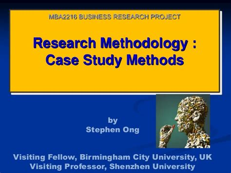 Research Methodology Ppt For Mba by Mba2216 Business Research Week 4 Study 0613