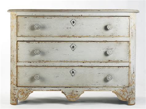chic shabby french style distressed off white chest dresser 47 wide from marcia treasures