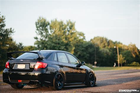 subaru sti 2011 stance flawless execution stancenation form gt function