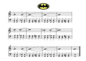 piano teaching batman song and worksheet for piano