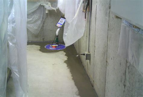 american basement waterproofing before after photos