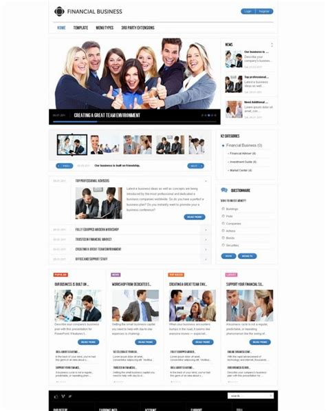 joomla club template gavickpro joomla club template joomla