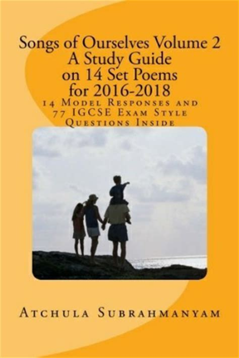 songs of ourselves volume literaturehouse teaching resources tes
