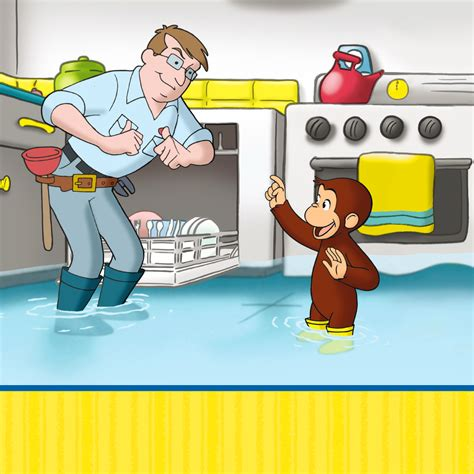 Plumbing Helper by Curious George Plumber S Helper