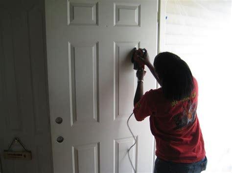 verniciatura porte verniciatura porte tinteggiare verniciare porta