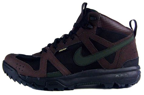 nike hiking boots for nike rongbuk mid gtx sz 13 mens hiking boots black ebay