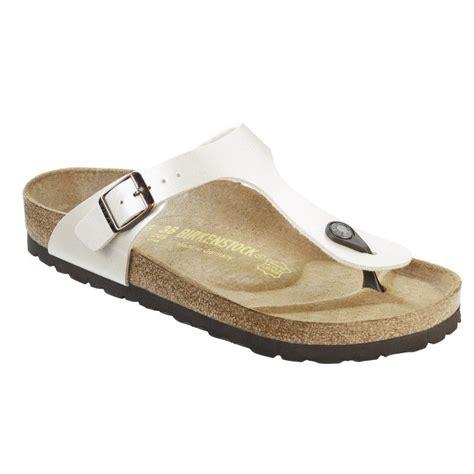 birkenstock white sandals birkenstock gizeh sandals white blue black brown