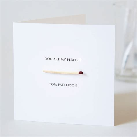 Who My Mastches personalised match card by twenty seven