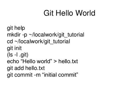 git tutorial revert commit workshop on source control git merge walkthroughs