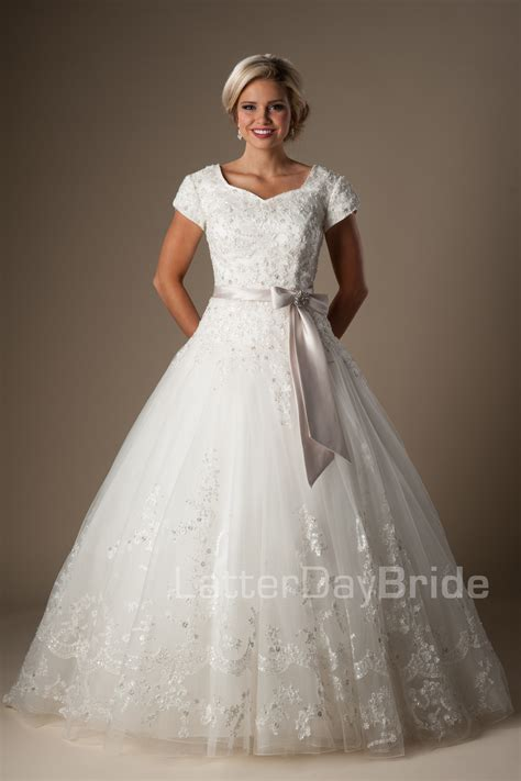 Lds Wedding Dress by Modest Wedding Dresses Rodolfo