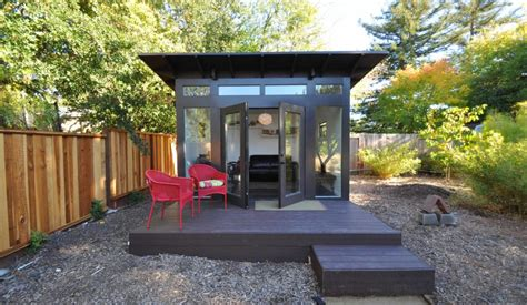 Backyard Studio Designs by Prefab Office Sheds Kits For Your Backyard Office