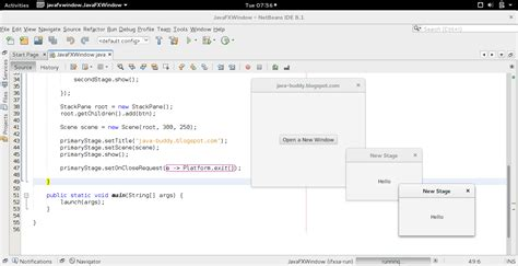 javafx layout stackpane java buddy javafx exle open new window and exit all