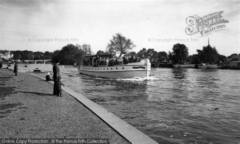 Thames River Boats Richmond | richmond river boat on the thames c 1955 francis frith