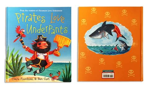 pirates love underpants b0092qvolm pirates love underpants book groupon goods