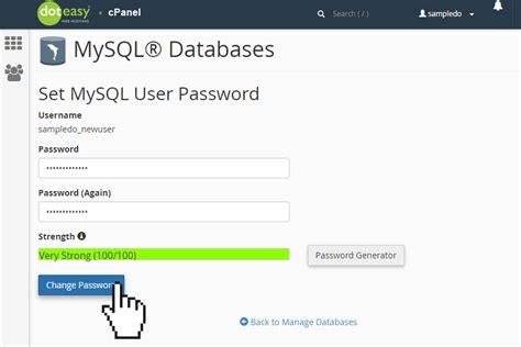 windows reset mysql password phpmyadmin database password phpsourcecode net
