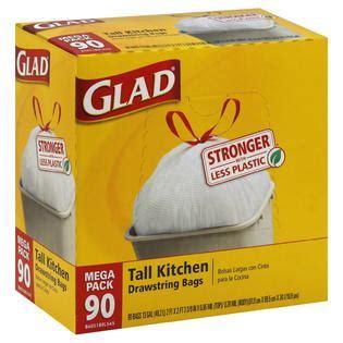 glad kitchen drawstring trash bags 13 gallon 90 count glad kitchen drawstring trash bags 13 gal 90 pack