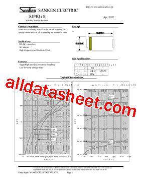 smd transistor l6 datasheet sjpb l6 datasheet pdf sanken electric