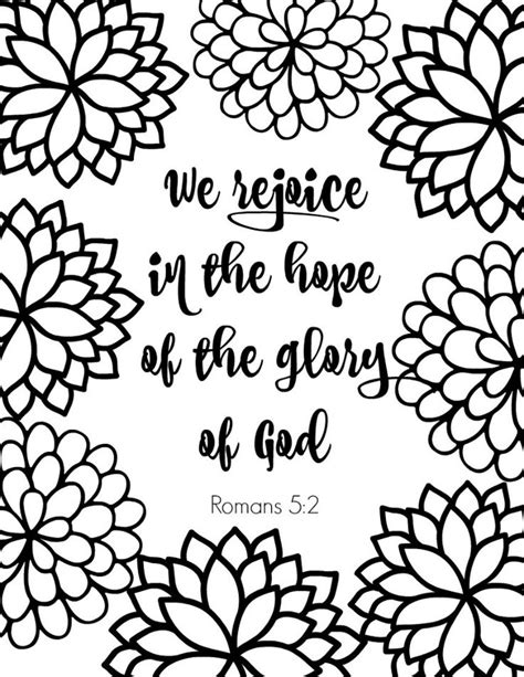 Free Printable Scripture Verse Coloring Pages Romans | free printable scripture verse coloring pages printable