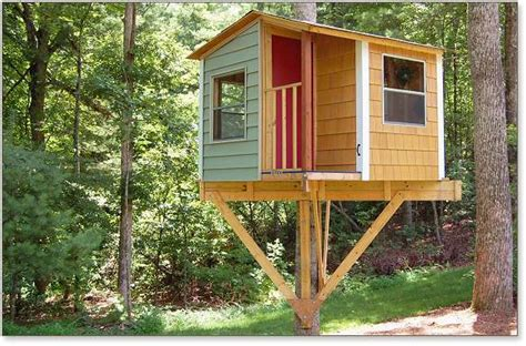 One Tree House Plans Www Pixshark Com Images Galleries With A Bite