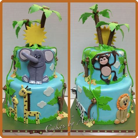 jungle cakes baby shower cake lasting memories by a m llc