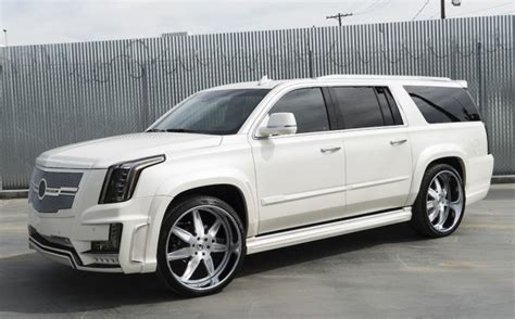 customized cadillac custom cadillac escalade offers exercise bike as option