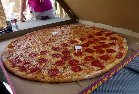 big mamas and papas pizza challenge big s papa s pizza montrose ca this was the