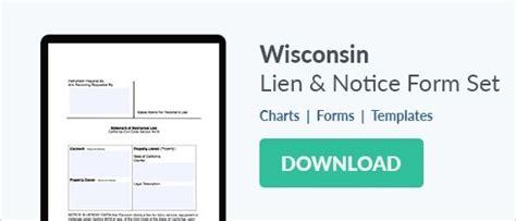 Wisconsin Subcontractor Identification Notice Form Zlien Miller Trust Template Florida