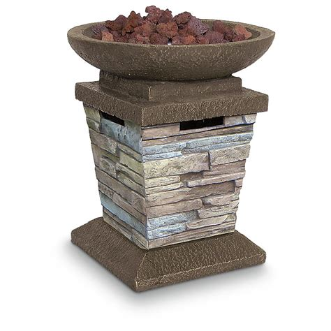 bond manufacturing newcastle tabletop outdoor propane heater 171679 fire pits patio heaters