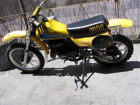 1980 Suzuki Rm80 Buy Vintage 1980 Suzuki Rm80 Motorcycle Motocross Mx On
