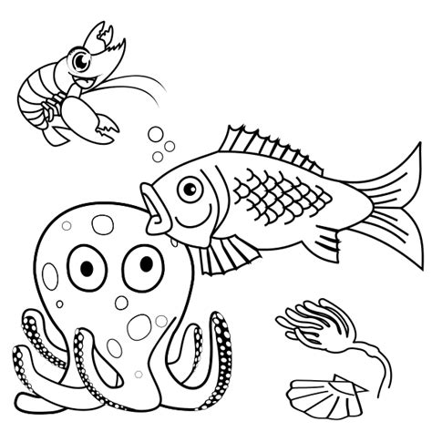 coloring pages sea world pin sea world coloring pages pictures for kids on pinterest
