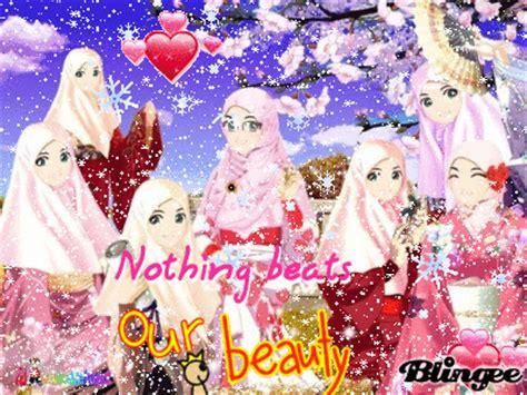 download wallpaper animasi cantik wanita muslimah picture 119774652 blingee com