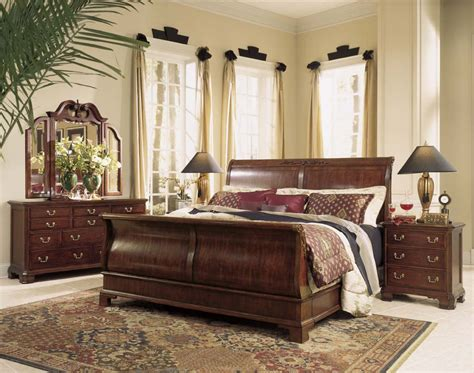 cherry bedroom set traditional bedroom sets american drew cherry grove