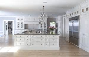 Shaped kitchen island transitional kitchen hayburn and co