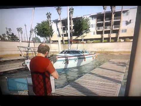 sinking boat gta 5 sinking boat in gta v youtube