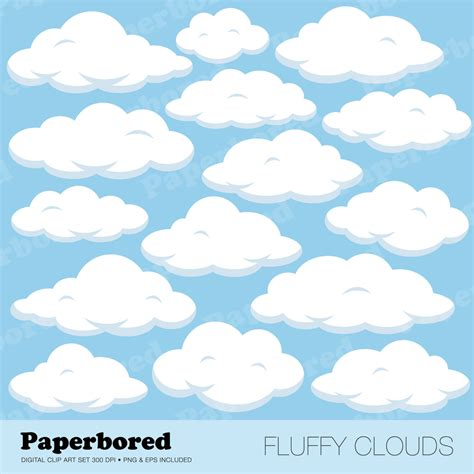 cloud clipart fluffy clouds clipart clipground