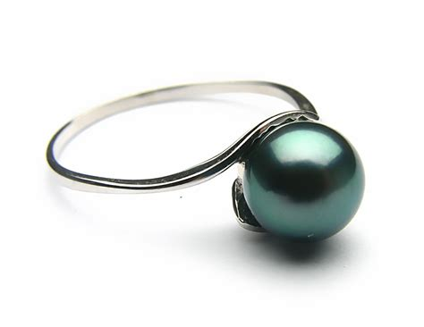 Black Akoya Pearl Jewelry Set, 6.5 7mm AAA   Pearl Jewelry Sets   Pearl Hours
